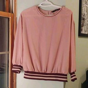 🌺💗Zara flowy dress blouse